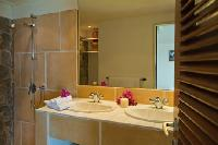 clean bathroom in Saint Barth Villa Sunrise luxury holiday home, vacation rental