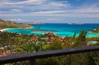spectacular sea view from Saint Barth Villa Sunrise luxury holiday home, vacation rental