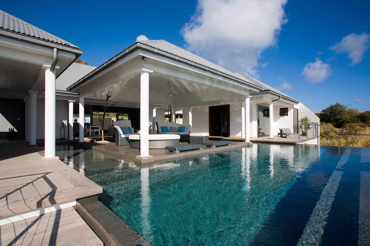 beautiful Saint Barth Villa Victoria luxury holiday home, vacation rental