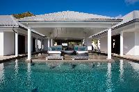 cool swimming pool of Saint Barth Villa Victoria luxury holiday home, vacation rental