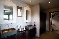 clean bathroom in Saint Barth Villa Victoria luxury holiday home, vacation rental