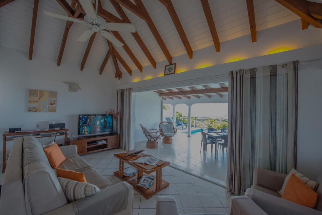 spacious Saint Barth Villa Alouette luxury holiday home, vacation rental