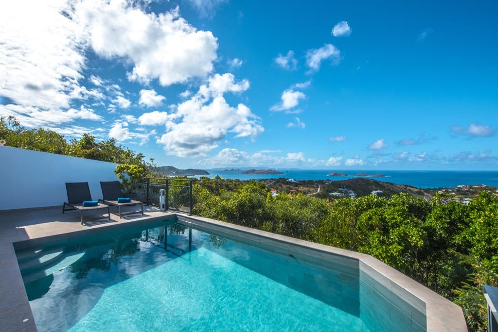 beautiful Saint Barth Villa Alouette luxury holiday home, vacation rental