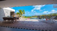 cool poolside of Saint Barth Villa Caco luxury holiday home, vacation rental