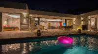 cool swimming pool of Saint Barth Villa Caco luxury holiday home, vacation rental