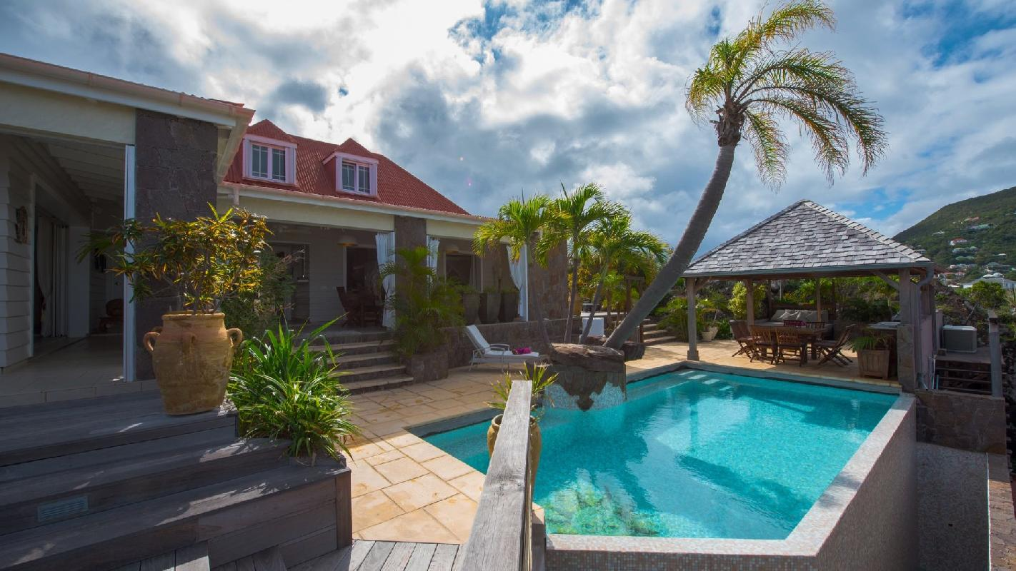 beautiful Saint Barth Villa Casa Blanca luxury holiday home, vacation rental