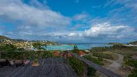 splendid sea view from Saint Barth Villa Casa Blanca luxury holiday home, vacation rental