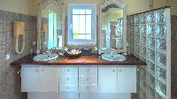 clean lavatory in Saint Barth Villa Casa Blanca luxury holiday home, vacation rental