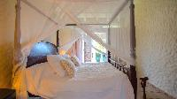 pristine bedding in Saint Barth Villa Casa Blanca luxury holiday home, vacation rental