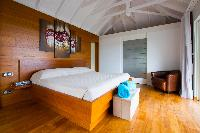 clean bedroom linens in Saint Barth Villa Lenalee luxury holiday home, vacation rental