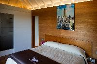 fresh bedroom linens in Saint Barth Villa Lenalee luxury holiday home, vacation rental