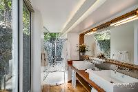 clean lavatory in Saint Barth Villa Lenalee luxury holiday home, vacation rental