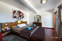 pleasant bedroom in Saint Barth Villa Lenalee luxury holiday home, vacation rental