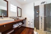 clean bathroom in Saint Barth Villa Lenalee luxury holiday home, vacation rental