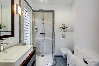 cool rain shower in Saint Barth Villa Lenalee luxury holiday home, vacation rental