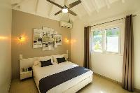 clean bedroom linens in Saint Barth Villa N' Joy luxury holiday home, vacation rental