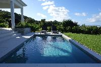 cool pool of Saint Barth Villa N' Joy luxury holiday home, vacation rental