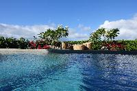cool swimming pool of Saint Barth Villa N' Joy luxury holiday home, vacation rental