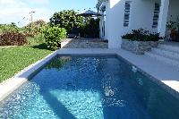 awesome pool of Saint Barth Villa N' Joy luxury holiday home, vacation rental