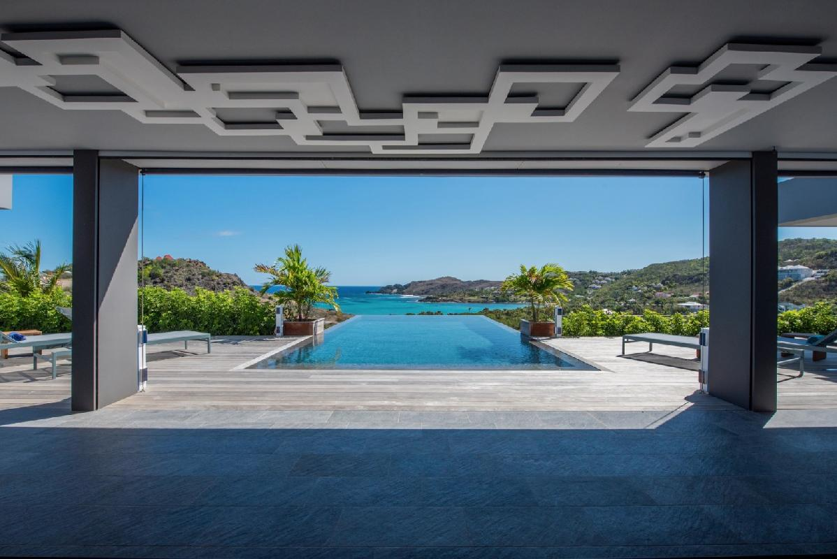 perfect Saint Barth Villa Amethyste luxury holiday home, vacation rental