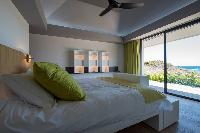 clean bed sheets in Saint Barth Villa Amethyste luxury holiday home, vacation rental