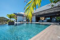 awesome pool of Saint Barth Villa Amethyste luxury holiday home, vacation rental
