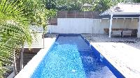 cool swimming pool of Saint Barth Villa Eole luxury holiday home, vacation rental