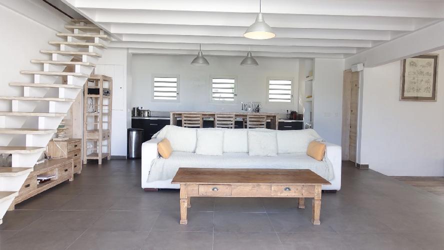 cool multilevel Saint Barth Villa Eole luxury holiday home, vacation rental