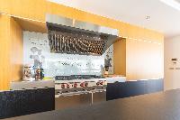 modern kitchen appliances in Saint Barth Villa My Way luxury holiday home, vacation rental