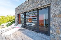 cool deck of Saint Barth Villa My Way luxury holiday home, vacation rental