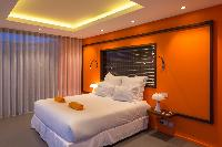 fresh bedroom linens in Saint Barth Villa My Way luxury holiday home, vacation rental