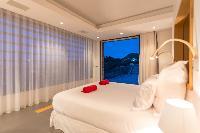 clean bedroom linens in Saint Barth Villa My Way luxury holiday home, vacation rental