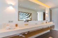 spic-and-span lavatory in Saint Barth Villa My Way luxury holiday home, vacation rental
