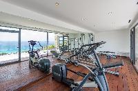 neat gym of Saint Barth Villa My Way luxury holiday home, vacation rental