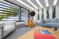 incredible living room of Saint Barth Villa My Way luxury holiday home, vacation rental