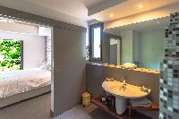 clean bathroom in Saint Barth Villa Datcha luxury holiday home, vacation rental