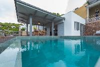 cool pool of Saint Barth Villa Datcha luxury holiday home, vacation rental