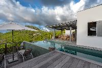 nifty swimming pool of Saint Barth Villa Datcha luxury holiday home, vacation rental