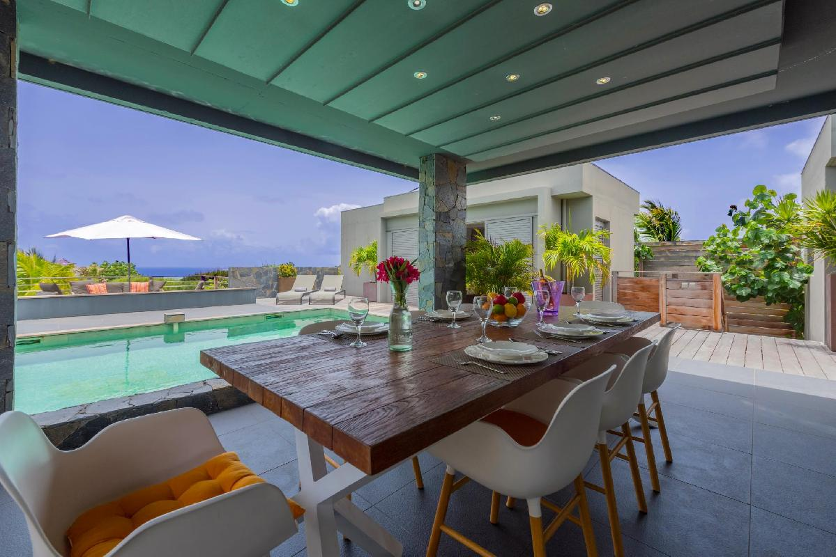 nifty Saint Barth Villa Lagon Vert luxury holiday home, vacation rental
