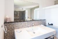 spic-and-span lavatory in Saint Barth Villa Lagon Vert luxury holiday home, vacation rental