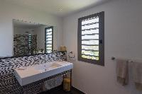 clean lavatory in Saint Barth Villa Lagon Vert luxury holiday home, vacation rental