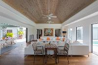well-appointed Saint Barth Villa Lagon Vert luxury holiday home, vacation rental