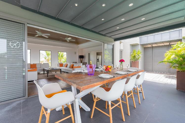 fancy Saint Barth Villa Lagon Vert luxury holiday home, vacation rental