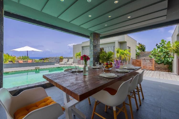 nifty Saint Barth Villa Lagon Vert luxury holiday home, vacation rental