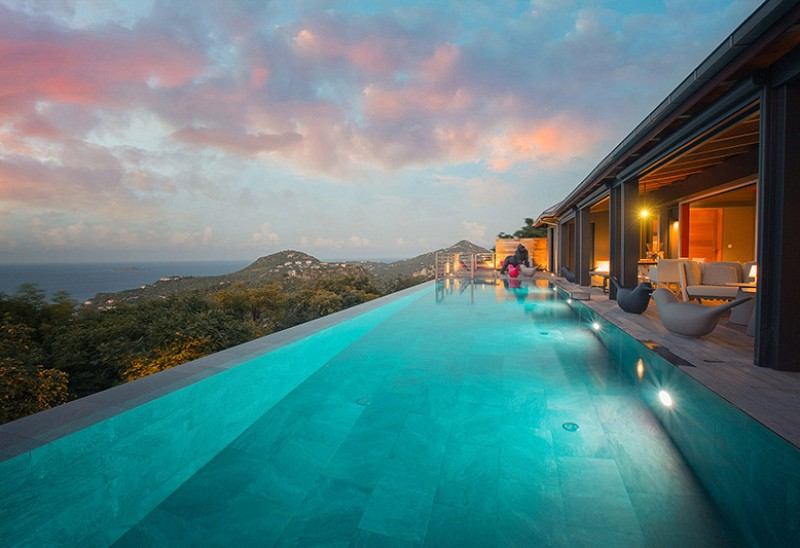spectacular Saint Barth Villa Moh luxury holiday home, vacation rental