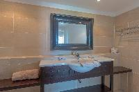 clean bathroom in Saint Barth Villa Petit Lagon luxury holiday home, vacation rental