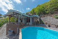 awesome pool of Saint Barth Villa Petit Lagon luxury holiday home, vacation rental