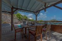 beautiful sea view from Saint Barth Villa Petit Lagon luxury holiday home, vacation rental