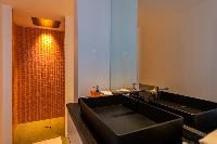 clean bathroom in Saint Barth Villa Seven luxury holiday home, vacation rental