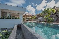cool swimming pool of Saint Barth Villa Seven luxury holiday home, vacation rental